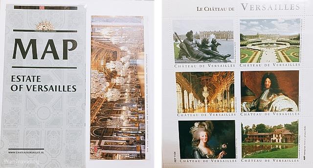 Château de Versailles stamps